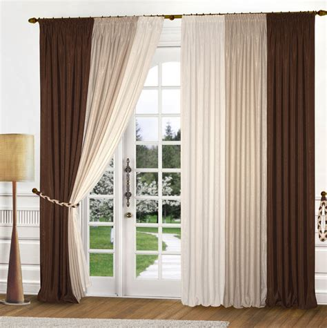 brown curtains with design beige and brown curtains best curtains design 2016