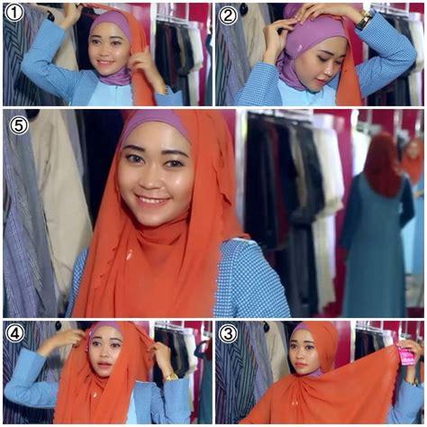 tutorial pashmina renda tutorial hijab pashmina zahira info by asep gunawan