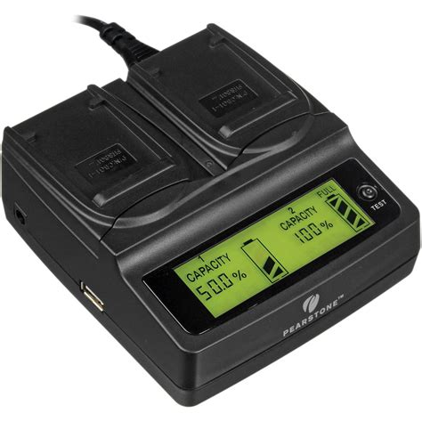 Sonynp Bg1 1 pearstone duo battery charger for sony np bg1 dlcsonpbg1 b h