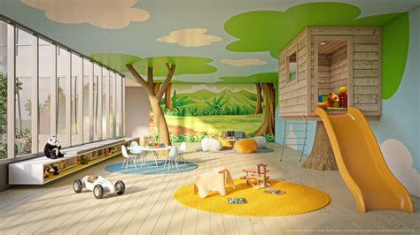 For Playroom by Amenity Children Play Room Central Park Ajax Condos