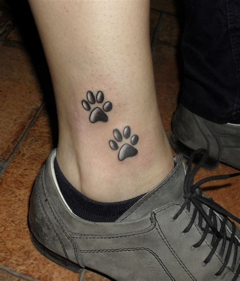 tattoo cat paws meaning paw tattoos