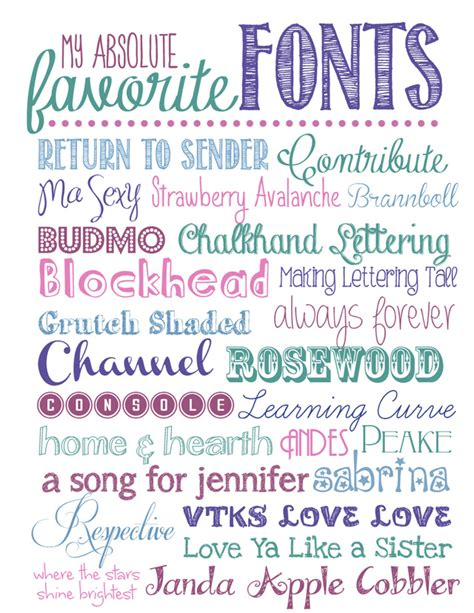 free printable fonts download my favorite free fonts take 2 how to nest for less