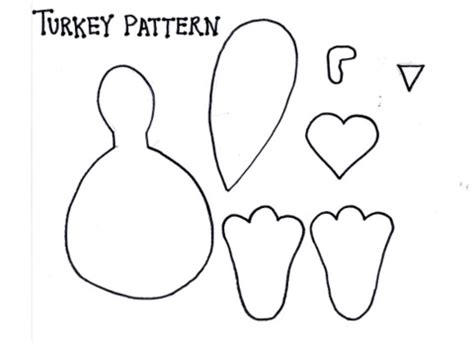 free printable turkey template best photos of turkey beak template turkey cut out