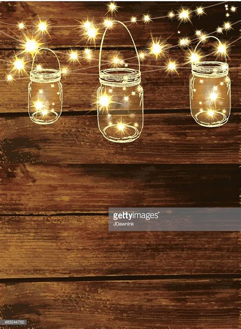 dollargeneralcom white lights stings wooden background with jar and string lights vector getty images