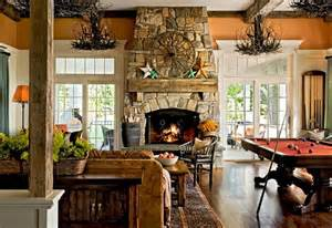 Home Design Story Rustic Stove by Fireplace With French Doors On Either Side Decoist