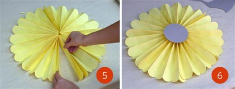 How To Make Tissue Paper Pinwheels - how to create a backdrop the fetti