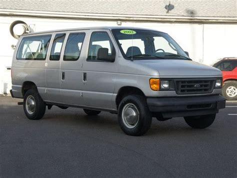 how make cars 2003 ford e series windshield wipe control sell used 2003 econoline e350 xl club wagon v8 super duty in hatboro pennsylvania united states