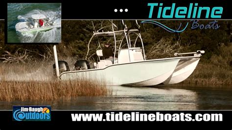 tideline boats jim baugh outdoors new boat sponsor 2017 tideline