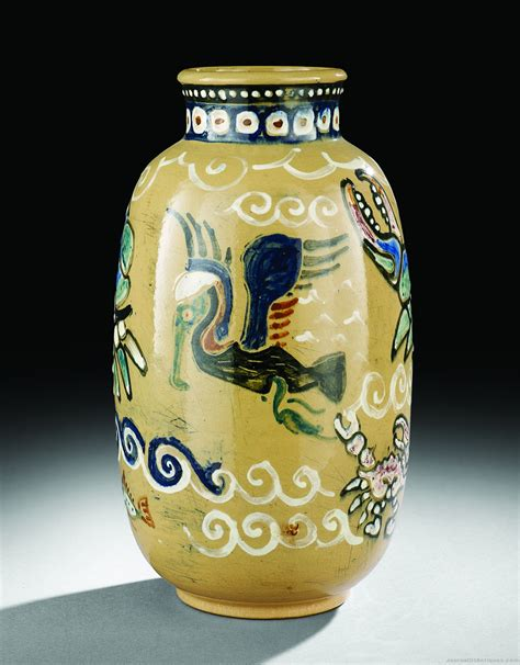 Vase Auction by Shearwater Pottery Vase 31 980 New Orleans Auction