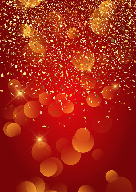 festive gold confetti background   vector art stock graphics images