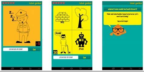 membuat game android tebak gambar asah otak kanan bisa menyenangkan dengan game quot tebak