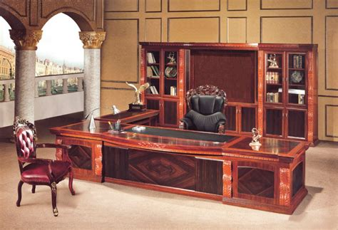luxury desks for home office antique solid wood executive office furniture for