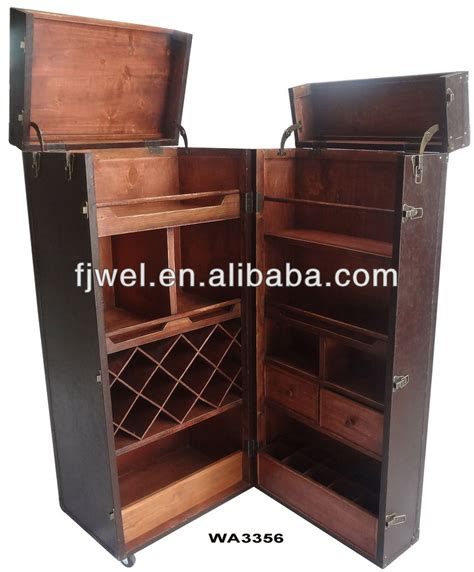 Trunk Bar Cabinet Shipping Trunk Bar Buy Colonial Furniture Steamer Trunk Bar Wooden Bar Cabinet Product On