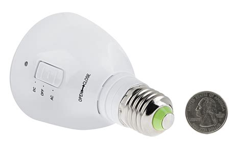 Led Emergency Light Bulb For Power Outages With Remote And Rechargeable Led Light Bulb