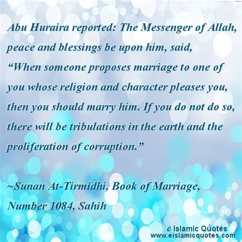 Islamic Wedding Blessing Quotes by Islamic Quotes On Marriage Hadith Quotes Tirmidhi 1084