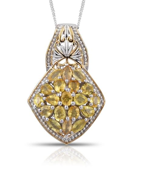 yellow sapphire meaning value information shop lc