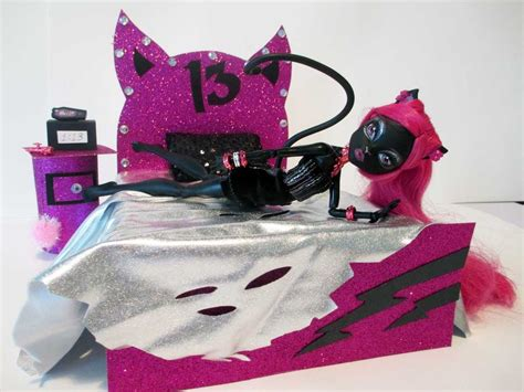 how to make a monster high bed how to make a catty noir doll bed tutorial monster high
