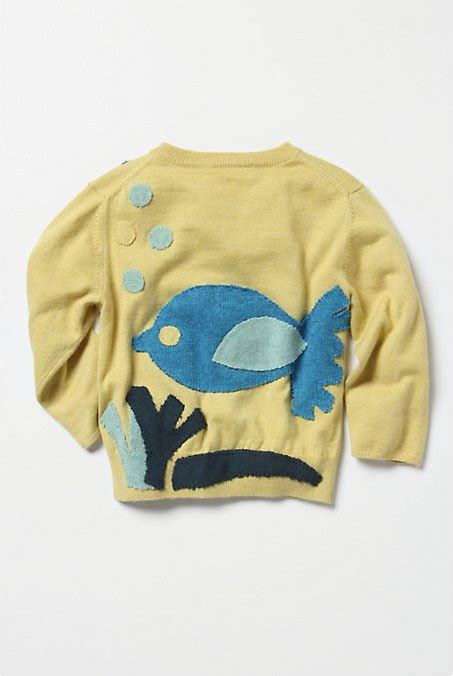 Sweater Fish Mr breakfast at anthropologie liamolly knits sale