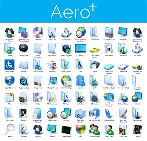 icon themes for windows 7 aero iconpack installer for windows 7 by ultimatedesktops