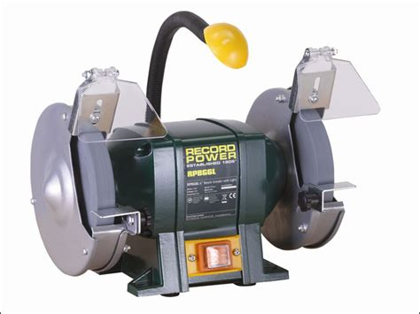 record power bench grinder record power rptrpbg150l rpbg150l bench grinder 6in