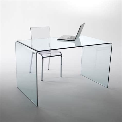 bureau plexiglas un bureau un meuble informatique transparents un choix