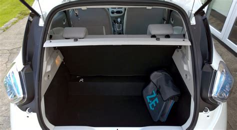 renault zoe boot renault zoe review test drives atthelights com