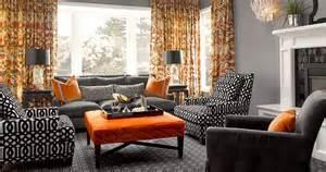 16 unique black and orange living room homes alternative