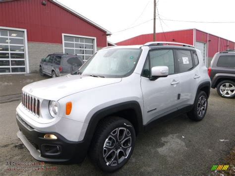 gray jeep renegade 2016 jeep renegade limited 4x4 in glacier metallic