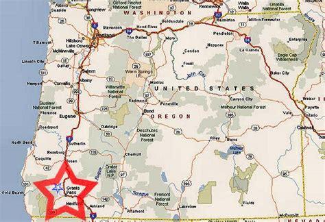 the map grants pass oregon grants pass oregon map
