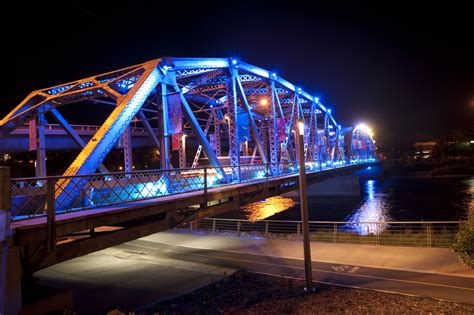 festival of lights fort wayne reconciliation bridge east village experience
