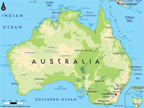 map of austarlia australia map maps details