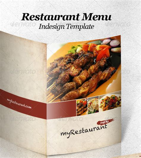 menu template indesign restaurant menu templates graphic designs
