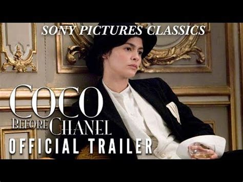 coco chanel biography film coco before chanel official trailer youtube