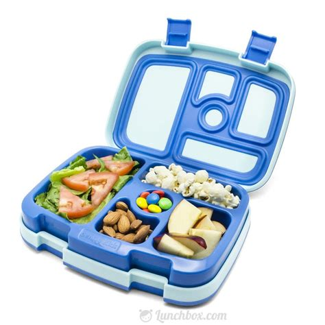 Lunch Box 1 bento lunch box blue lunchbox