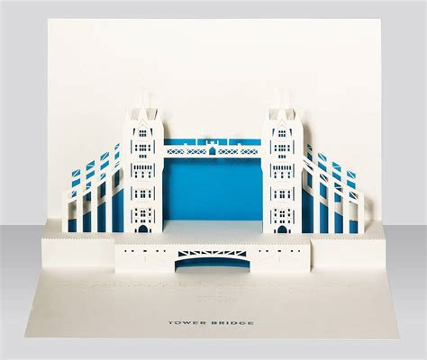 city pop up card template tower bridge pop up card by paper