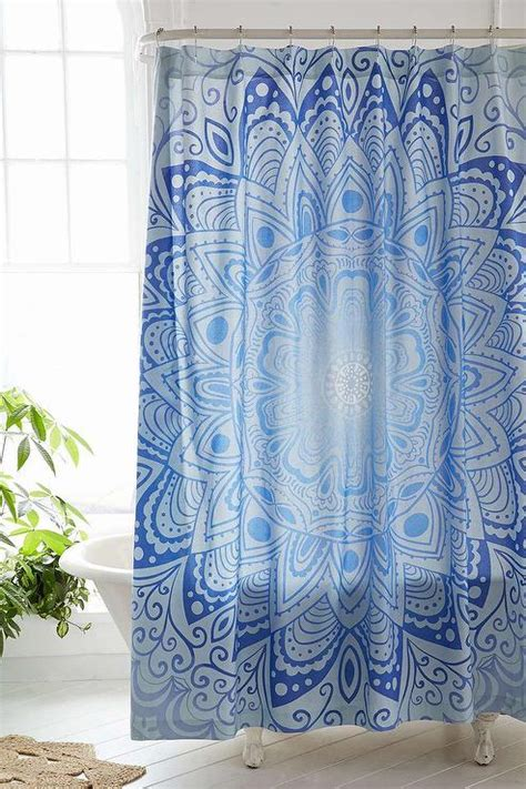 urban shower curtain magical thinking cosmic medallion shower curtain i urban