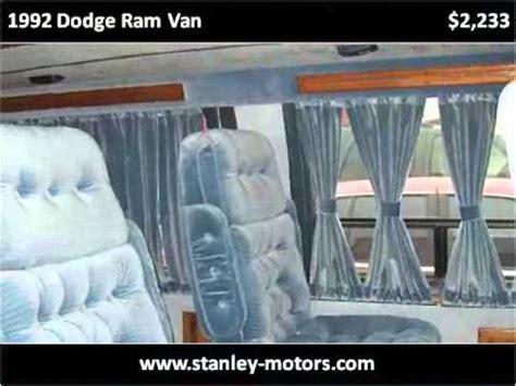 1992 dodge ram van available from stanley motors youtube