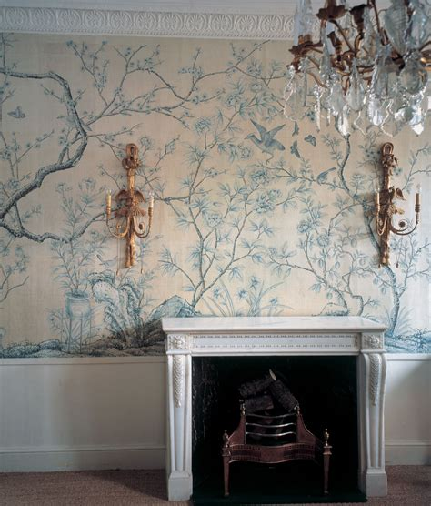 chinoiserie wallpaper uk blue sanctuary chinoiserie