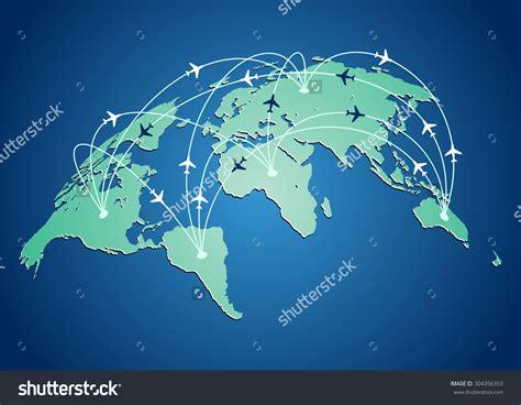 v 253 sledek obr 225 zku pro world map flight paths flat earth