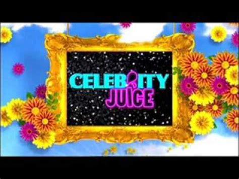celebrity juice logo celebrity juice credits youtube