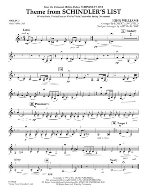 theme list schindler download theme from schindler s list violin 3 viola