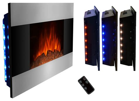 electric fireplace wall mount modern wall mounted electric fireplace log modern indoor
