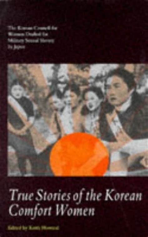 comfort women book true stories of the korean comfort women the korean
