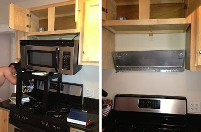 microwave that hangs cabinet crafts home quot improvements quot may 2013