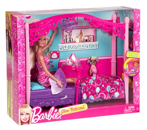 barbie doll bedroom set barbie 174 glam bedroom