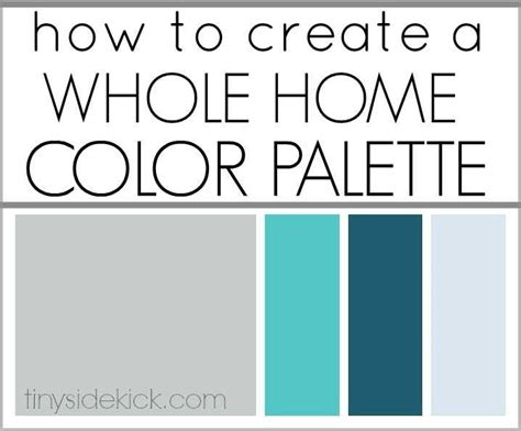 home color palette how to create a whole home color palette