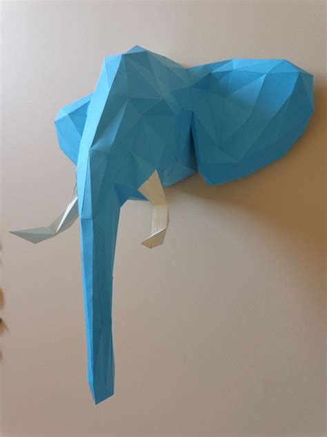 Elephant Paper Craft - welcome to the jungle elephant papercraft