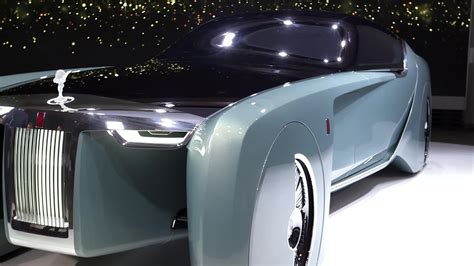 future rolls royce rolls royce give vision of the future with concept car