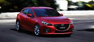 firm hopes their new compact mazda 3 saloon will rival the