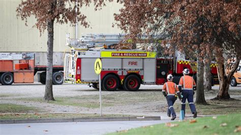 ettamogah paper mill worker dead others critical after toxic gas leak near albury mill in mourning after of worker the border mail